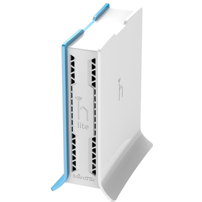 hAP Lite - TC with 650MHz CPU, 32MB RAM, 4xLAN, built-in 2.4Ghz 802.11b/g/n 2x2 two chain wireless with integrated antennas, RouterOS L4, tower case, PSU  - foto principal 7
