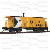 Vagão 39 Pés International Steel Bay Window Caboose Canadian Pacific #437265 - WAL-103301