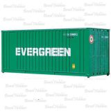 Container Walthers 20 Pés Ribbed-Side Evergreen - WAL-8002