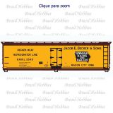 Vagão Accurail 40 Pés Wood Reefer Decker #2540 - Kit para Montar - ACU-80791