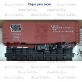 Vagão Accurail 40 Pés AAR Steel Box Car Duluth South Shore & Atlantic #17024 - Kit para Montar - ACU-8088 B