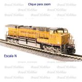 Escala N - Locomotiva Broadway GE AC6000 UP Paragon 3 # 7562 c/ Som, DCC e DC - BLI-3753