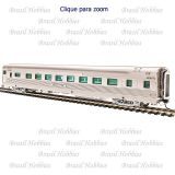 Carro de Passageiros California Zephyr D&RGW 16 Section Sleeper ''Silver Aspen'' #1220 - BLI-520