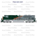 Escala N - Locomotiva Broadway EMD SD70ACe Western Pacific/ UP Paragon 3 # 1983 c/ Som, DCC e DC - BLI-3469