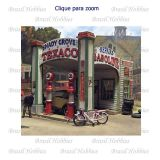 Gas Station at Shady Grove - Kit para Montar - BMS-552  - foto 1