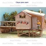 The Fishing Shack At Cozy Cove - Kit para Montar - BMS-662
