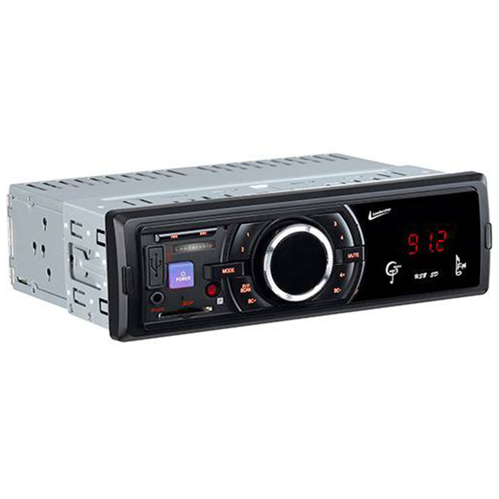 Auto Rádio FM e MP3 Som Automotivo 45W Entrada USB Black-Bird