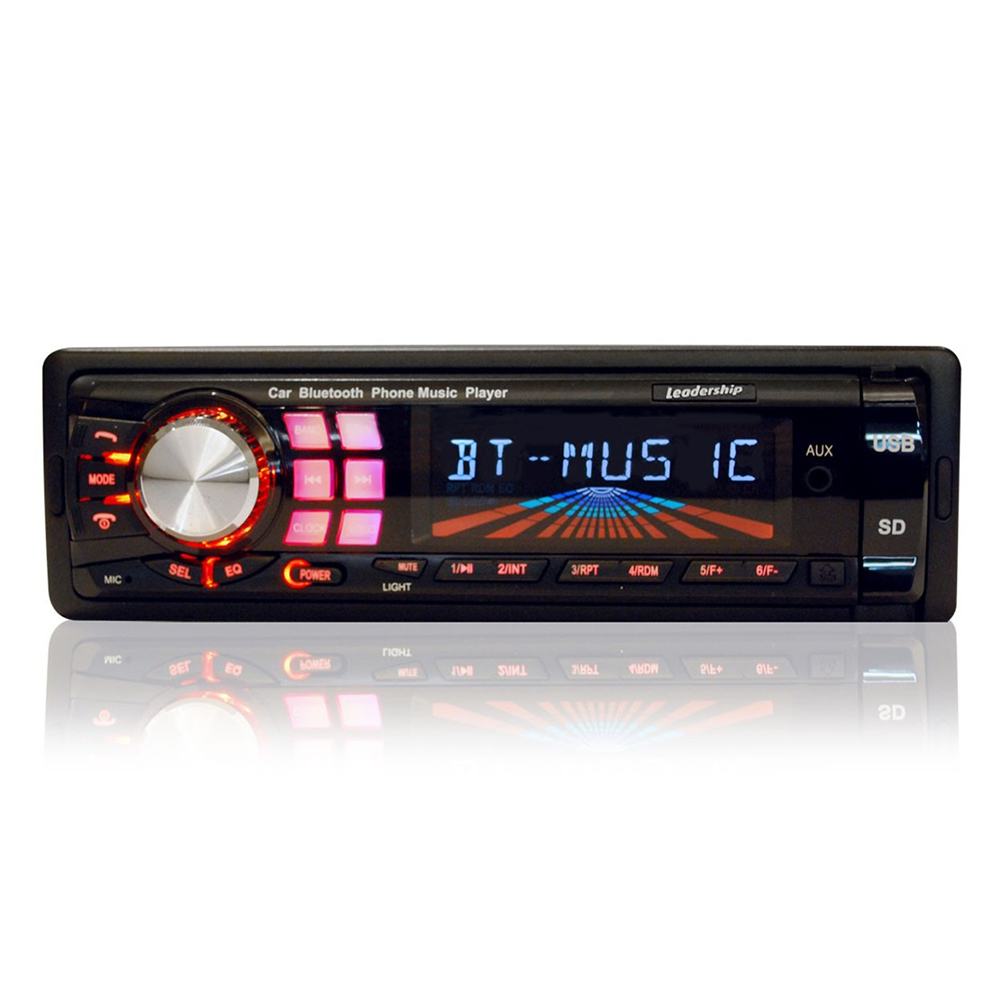 Auto Rádio FM e MP3 Som Automotivo 45W Bluetooth Conversation