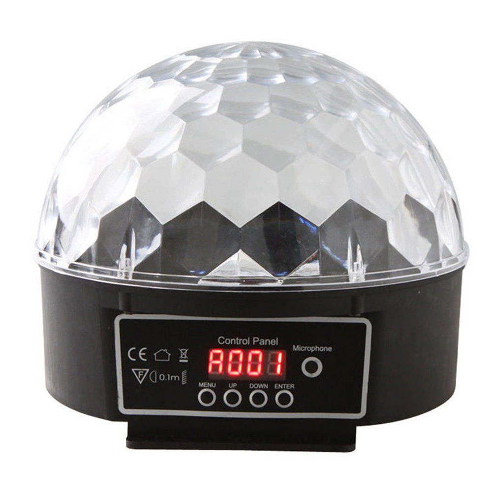 Bola Maluca DMX Magic Ball 6 Cores Painel Digital 18/21w