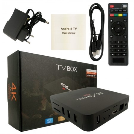 TV Box HD Android Mxq Wi Fi Quadcore Smart Tv Netflix 4K  - foto principal 1