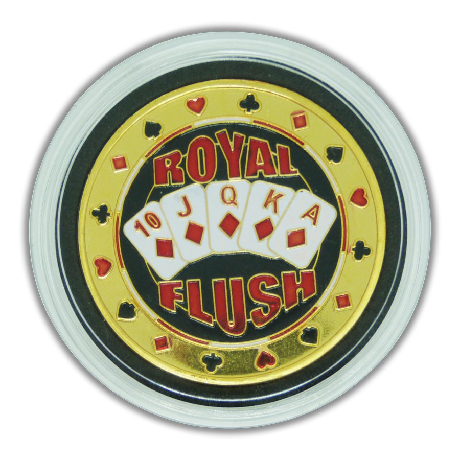 Protetor de Cartas Poker Protect Card Customizada Royal Flush