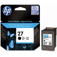 Cartucho HP Original 27 preto C8727BL 10ml