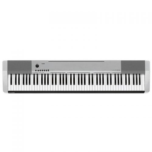 Piano Digital Casio 88 teclas CDP 130 - Prata