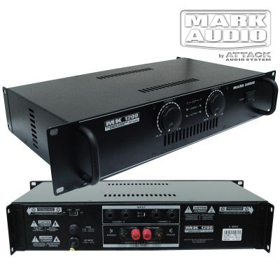 Amplificador Mark Audio Mk 1200