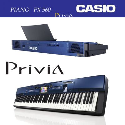 Piano Digital Privia Px 560 M