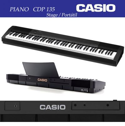 Piano digital Casio CDP 135