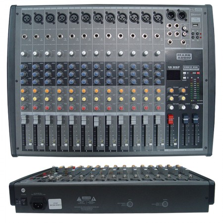 Mesa de som MARK AUDIO CMX12USB