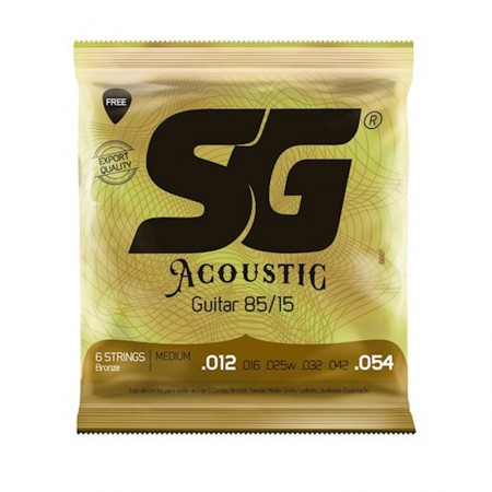 Encordoamento SG Acoustic Medium 012 Bronze