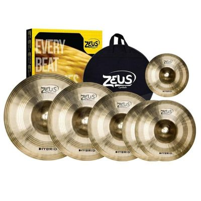 Kit de pratos zeus Hybrid SET E 14 16 18 20 10