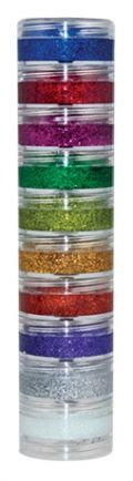 Kit Glitter Cremoso c/ 10 Cores Color Make