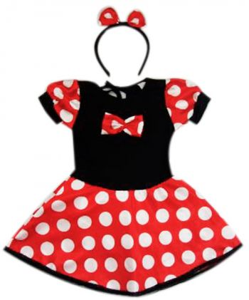 Fantasia Ratinha -  Minnie Baby  - foto 1