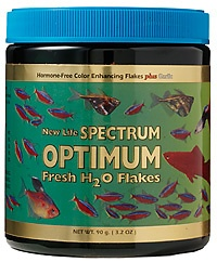 NEW LIFE SPECTRUM  OPTIMUM FRESWATER H2O FLAKES 45G - UN