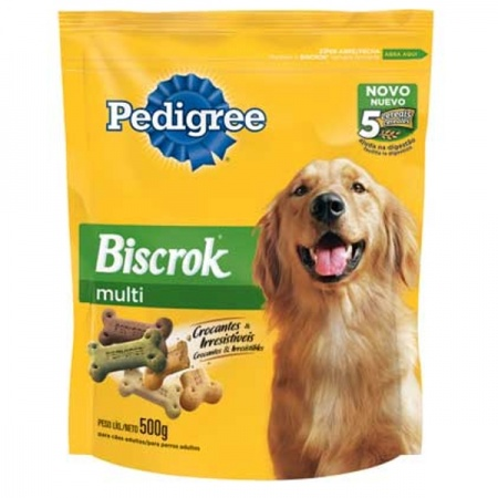 PEDIGREE BISCROK ADULTO 500G