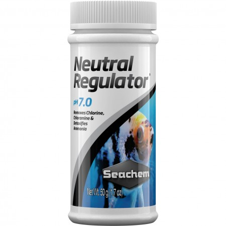Seachem Neutral Regulator 7.0 50gr Tamponador Ph Neutro - PET PATAO