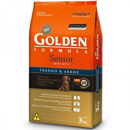 GOLDEN FORMULA SENIOR MINI BITS  3KG