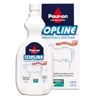 TOPLINE RED POUR ON (FIPRONIL) 1 LITRO - UN