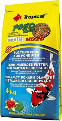TROPICAL KOI & GOLDFISH MIXED STICKS 4000G (BAG)