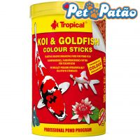 TROPICAL KOI & GOLDFISH COLOUR STICKS 85G ( POTE ) - UN
