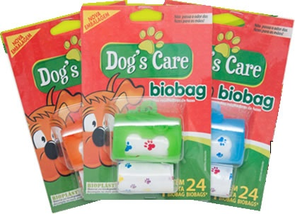 DOG´S CARE BIOBAG COM REFIL - UN