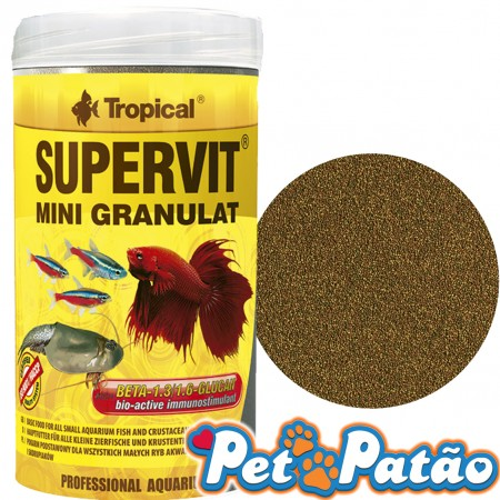 TROPICAL SUPERVIT MINI GRANULAT A PARTIR DE