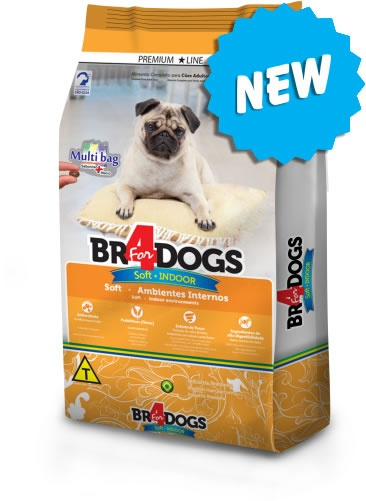 BR4DOGS SOFT INDOOR ADULTO 900G - UN