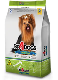 BR4DOGS SMALL BREED ADULTO 15KG
