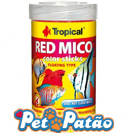 TROPICAL RED MICO COLOUR STICKS 32G - UN