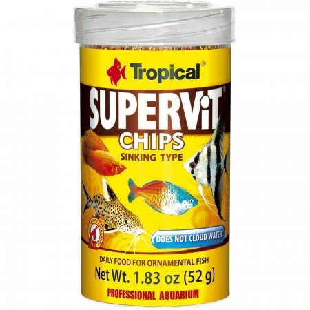 TROPICAL SUPERVIT CHIPS 52G
