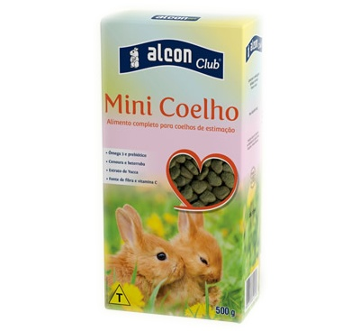 ALCON CLUB MINI COELHO 500G - UN