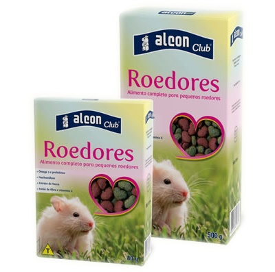 ALCON CLUB ROEDORES 500G - UN