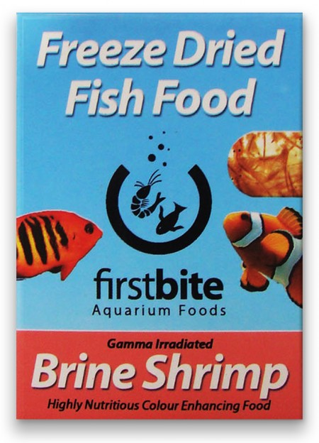 BCUK FIRST BITE FREEZE DRIED BRINE SHRIMP 7G (ARTEMIA LIOFILIZADA) - UN