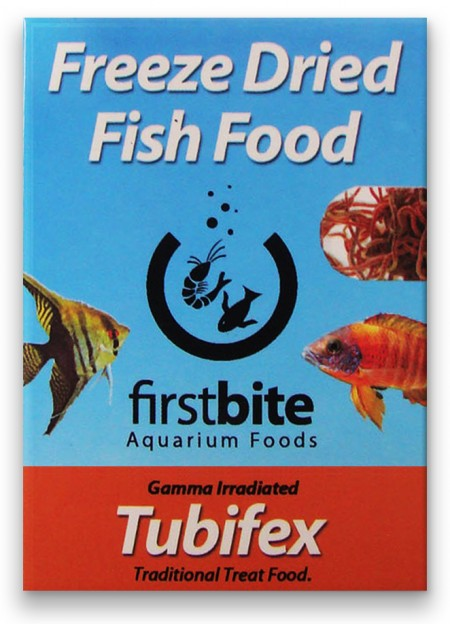 BCUK FIRST BITE FREEZE DRIED TUBIFEX 5G (TUBIFEX LIOFILIZADO) - UN