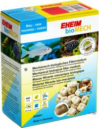 EHEIM BIOMECH FILTER MEDIA 1L 700G - MEDIA BIO-MECANICA COLONIZADORA DE BACTERIAS - UN