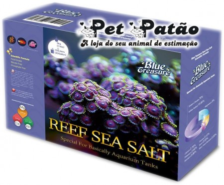 SAL MARINHO BLUE TREASURE REEF BOX 5KG - UN