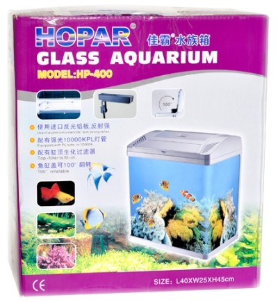 HOPAR AQUARIO HP-400 BRANCO LED 34L 127V - UN