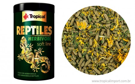 REPTILES HERBIVORE SOFT 260G - TROPICAL