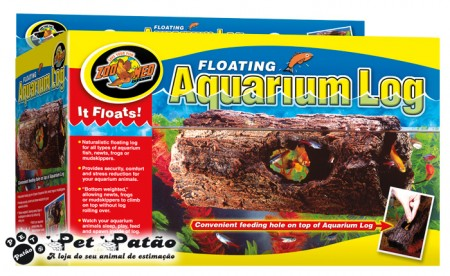 ZOOMED AQUARIUM LOG FA-10  ( TRONCO FLUTUANTE PEQUENO PARA AQUARIOS )