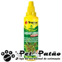 TROPICAL AQUAFLORIN POTASSIUM 50ML FERTILIZANTE LIQUIDO P/  PLANTAS AQUATICAS  - VAL 09-2019