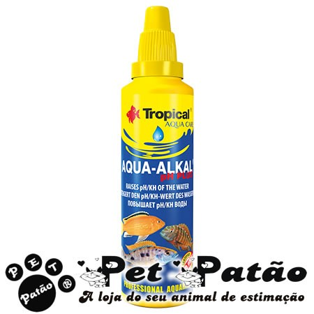 TROPICAL AQUA-ALKAL PH PLUS 50ML - VAL 08-2019
