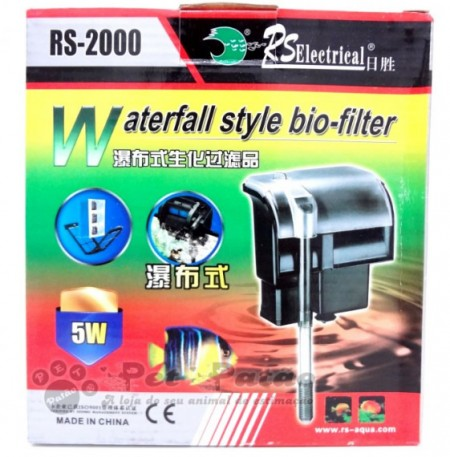 FILTRO EXTERNO RS-2000 800L/H 127V RS ELECTRICAL - PET PATAO